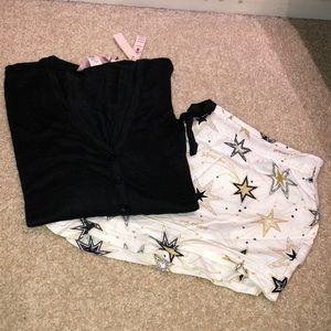 NWT Victoria's Secret short pajama set